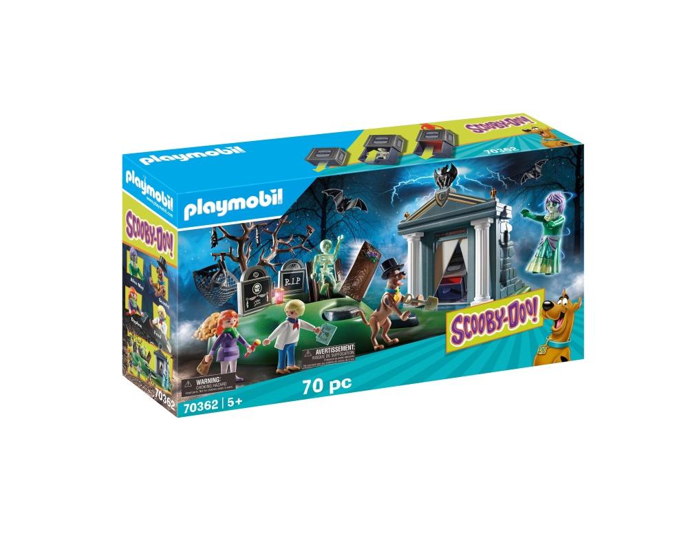 Aventuri in cimitir playmobil scooby doo