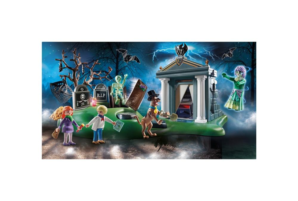 Aventuri in cimitir playmobil scooby doo - 1