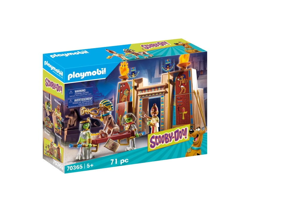 Aventuri in egipt playmobil scooby doo