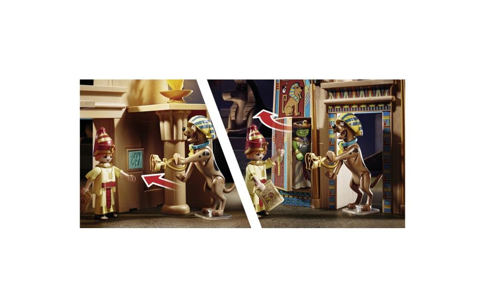 Aventuri in egipt playmobil scooby doo - 1