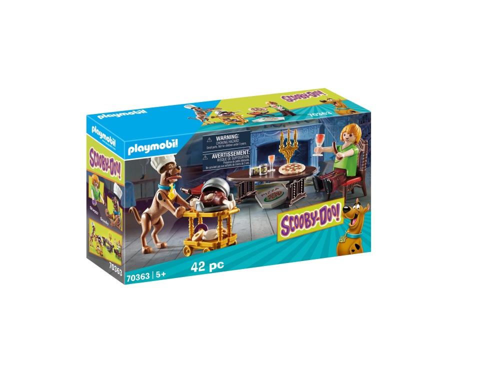 Cina cu shaggy playmobil scooby doo