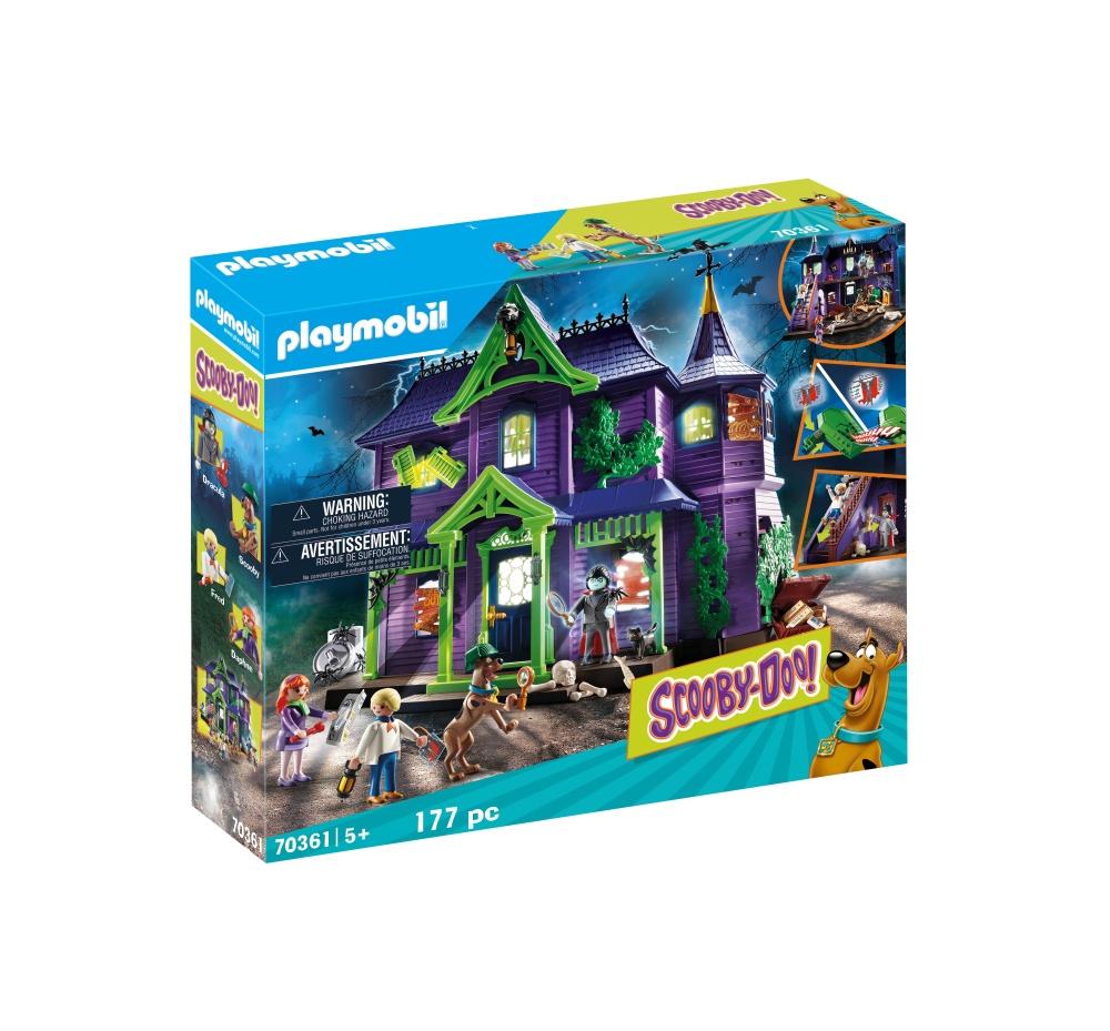 Casa misterelor playmobil scooby doo
