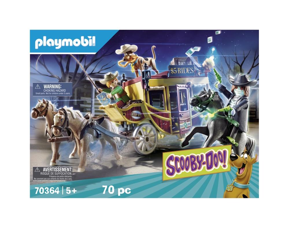 Vestul salbatic playmobil scooby doo - 1
