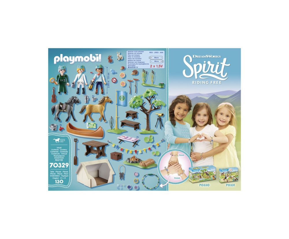 Tabara de vara playmobil spirit - 2
