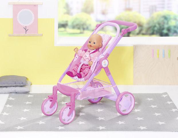 Carucior 11 in 1 joaca bebelusi baby born imagine