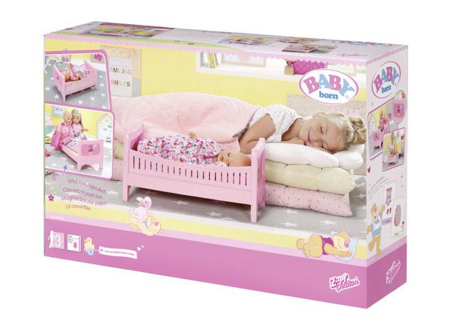 Patut roz joaca bebe baby born imagine
