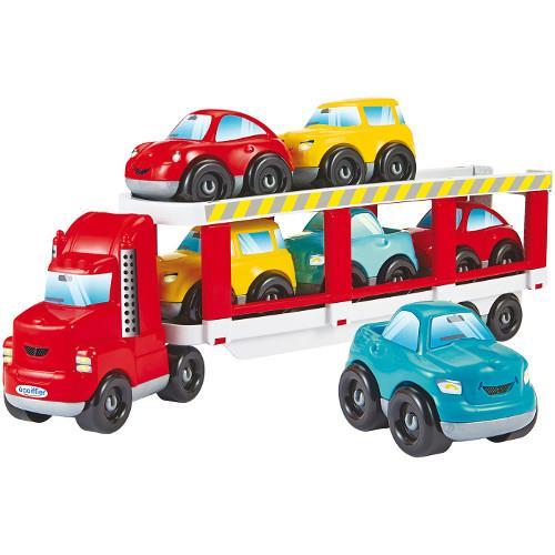 Camion abrick cu 6 masinute ecoiffier imagine