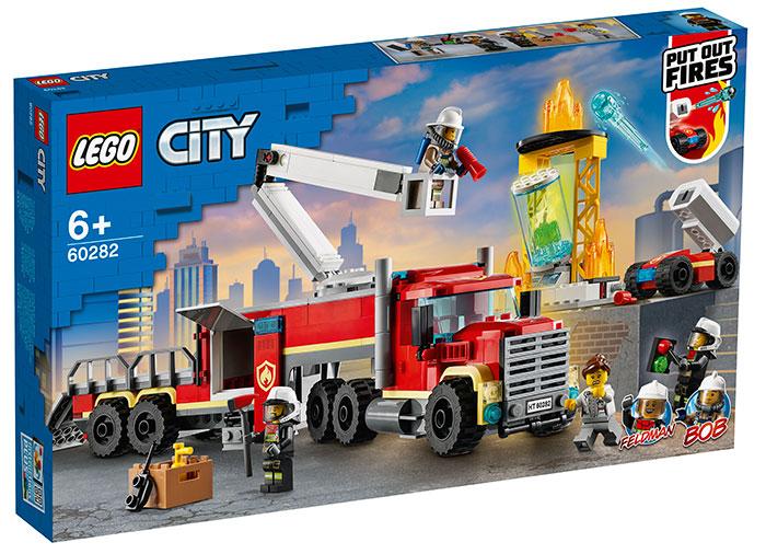 Unitate de comanda a pompierilor lego city