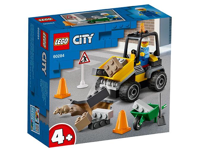 Masina de reparat drumuri lego city