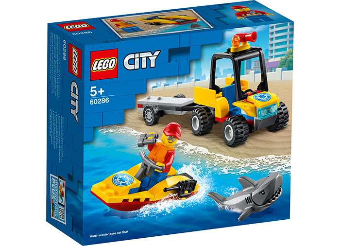 Atv si barca de salvamari lego city