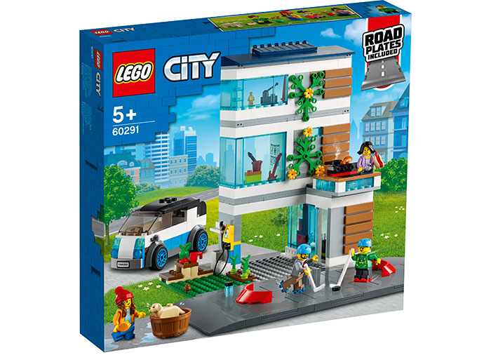 Casa familiei lego city