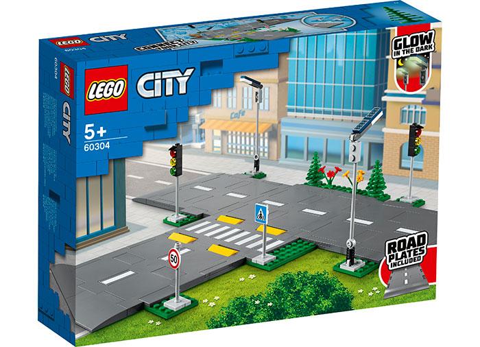 Placi de sosea lego city