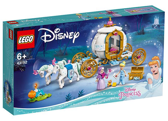 Trasura regala a cenusaresei lego disney princess