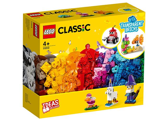 Caramizi transparente lego classic