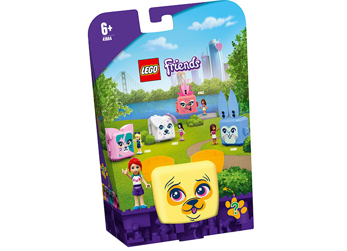 Cubul cu pug al miei lego friends