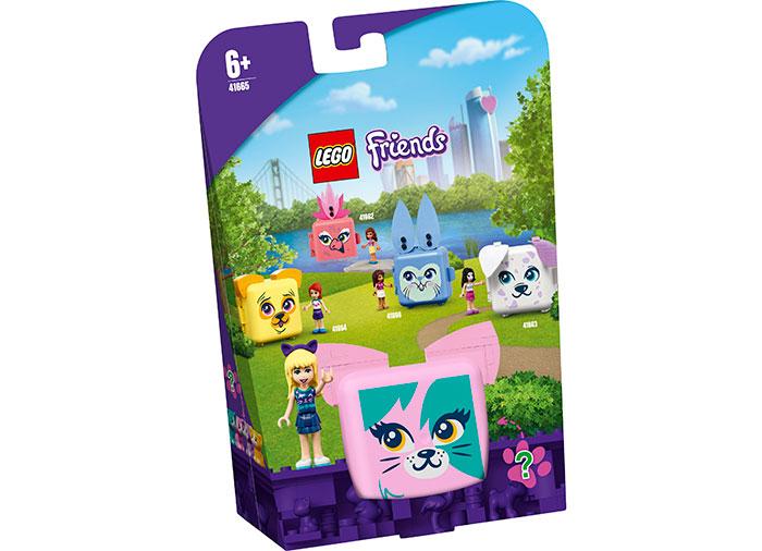Cubul cu pisica al lui stephanie lego friends