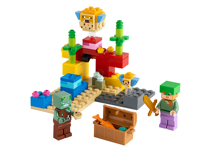 Reciful de corali lego minecraft - 1