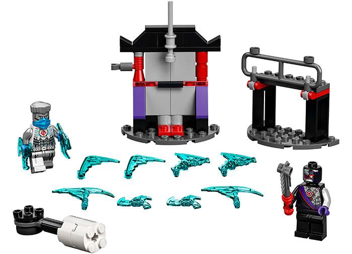 Batalie epica zane vs nindroid lego ninjago - 1