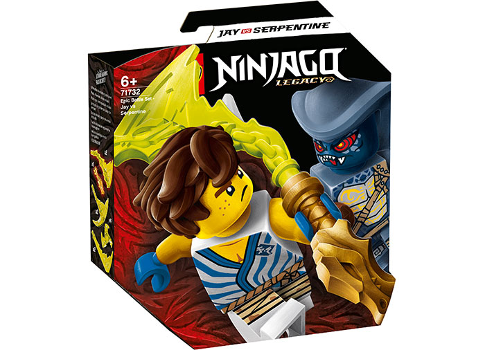 Batalie epica jay vs serpentine lego ninjago