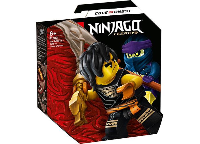 Batalie epica cole vs ghost warrior lego ninjago