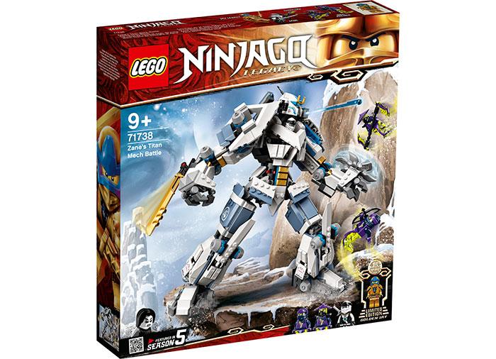 Robotul titan al lui zane lego ninjago