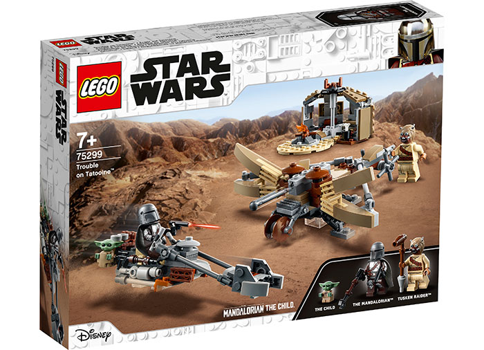 Bucluc pe tatooine lego star wars