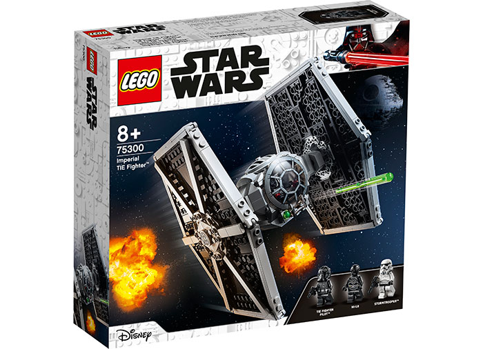 Tie fighter imperial lego star wars