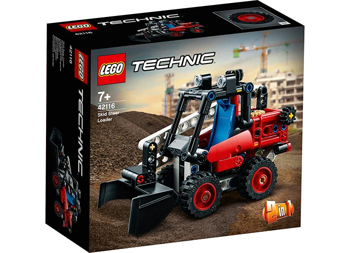 Mini incarcator frontal lego technic