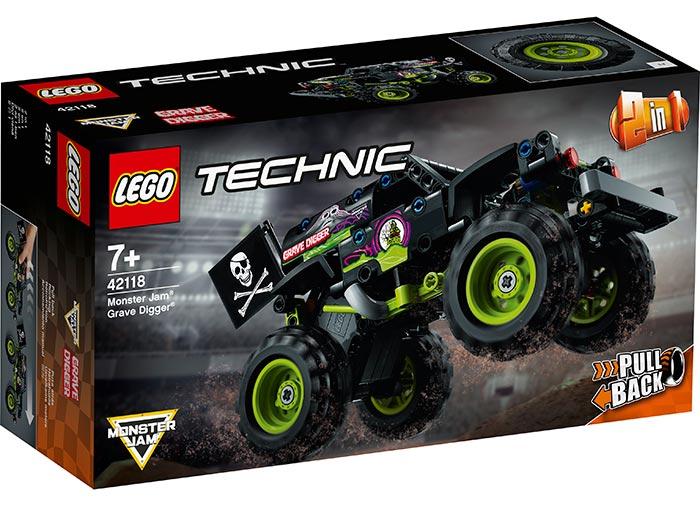 Monster jam grave digger lego technic