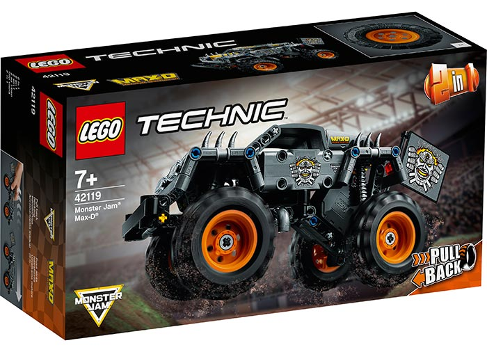 Monster jam max d lego technic