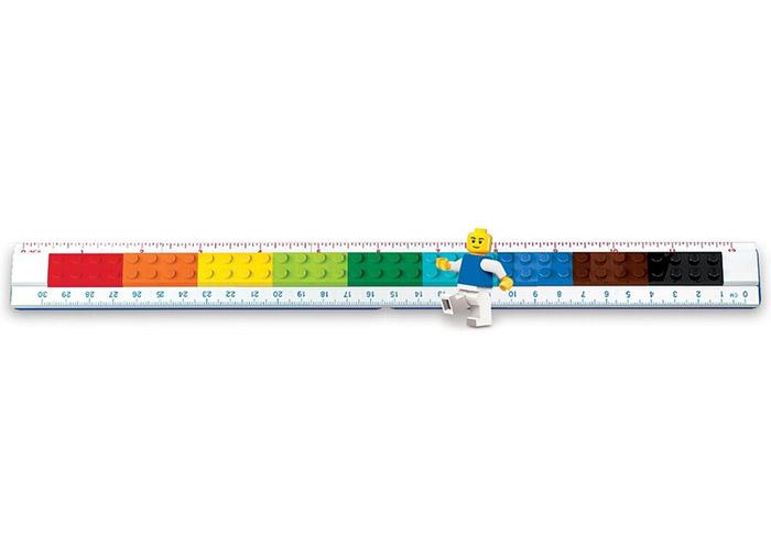 Rigla lego construibila cu minifigurina - 2