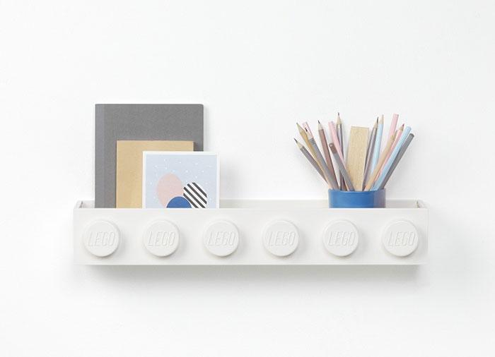 Suport lego pentru carti alb - 2