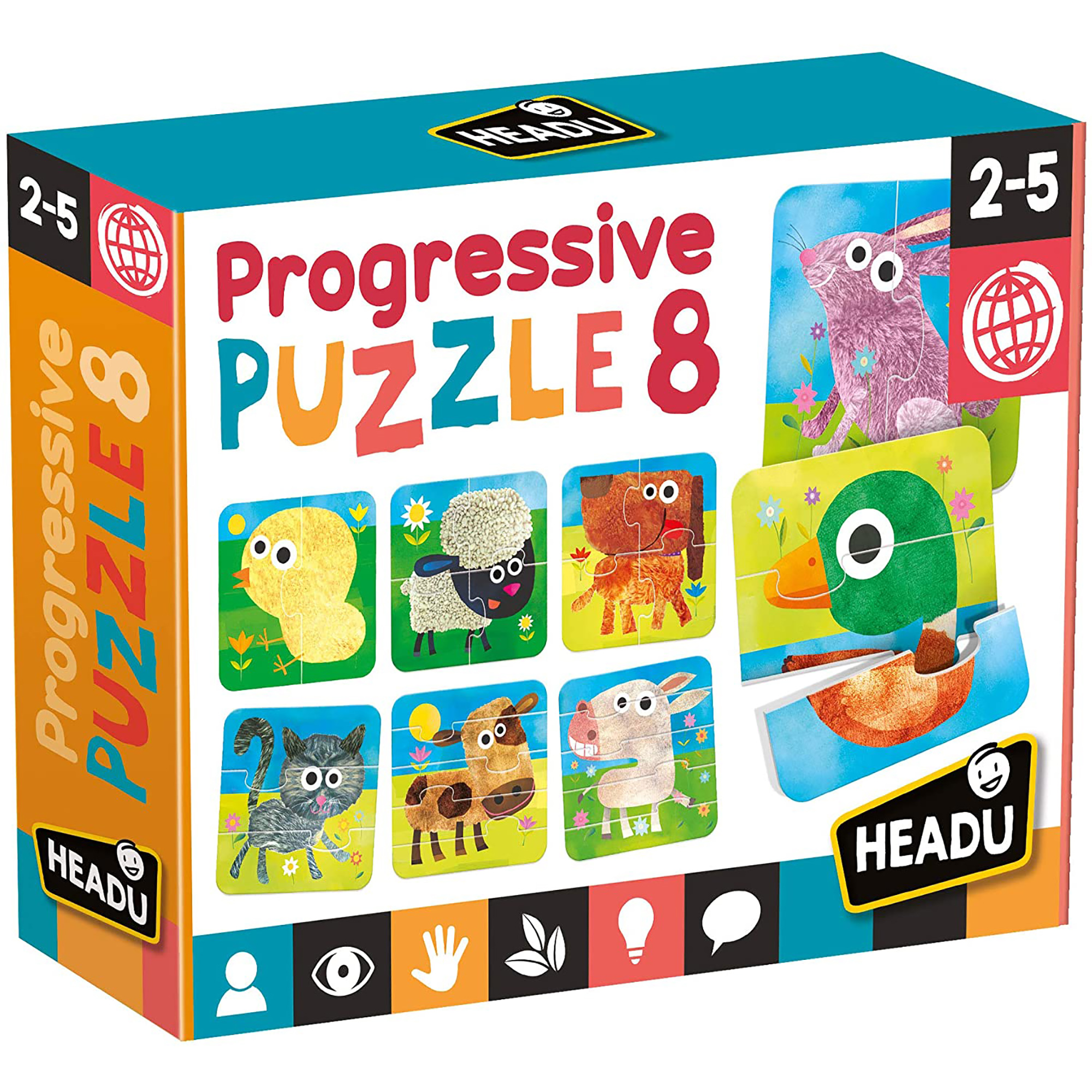 Set 8 puzzle-uri progresive headu
