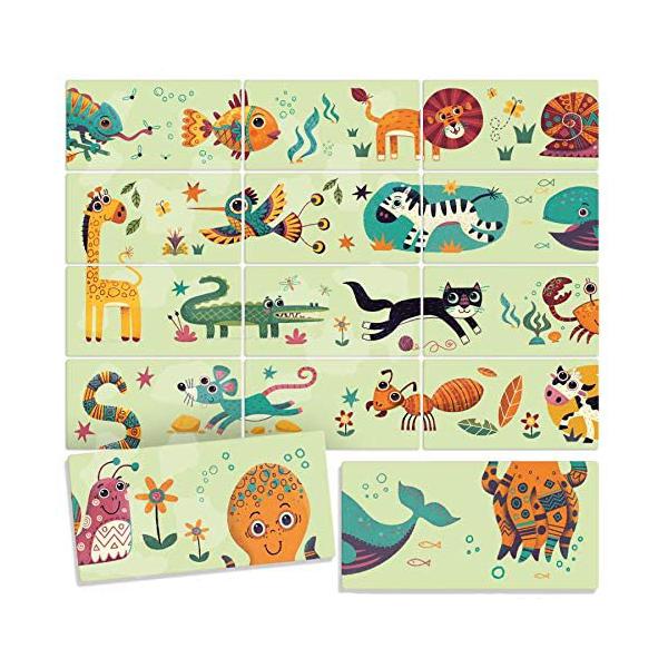 Joc domino puzzle animale headu - 1