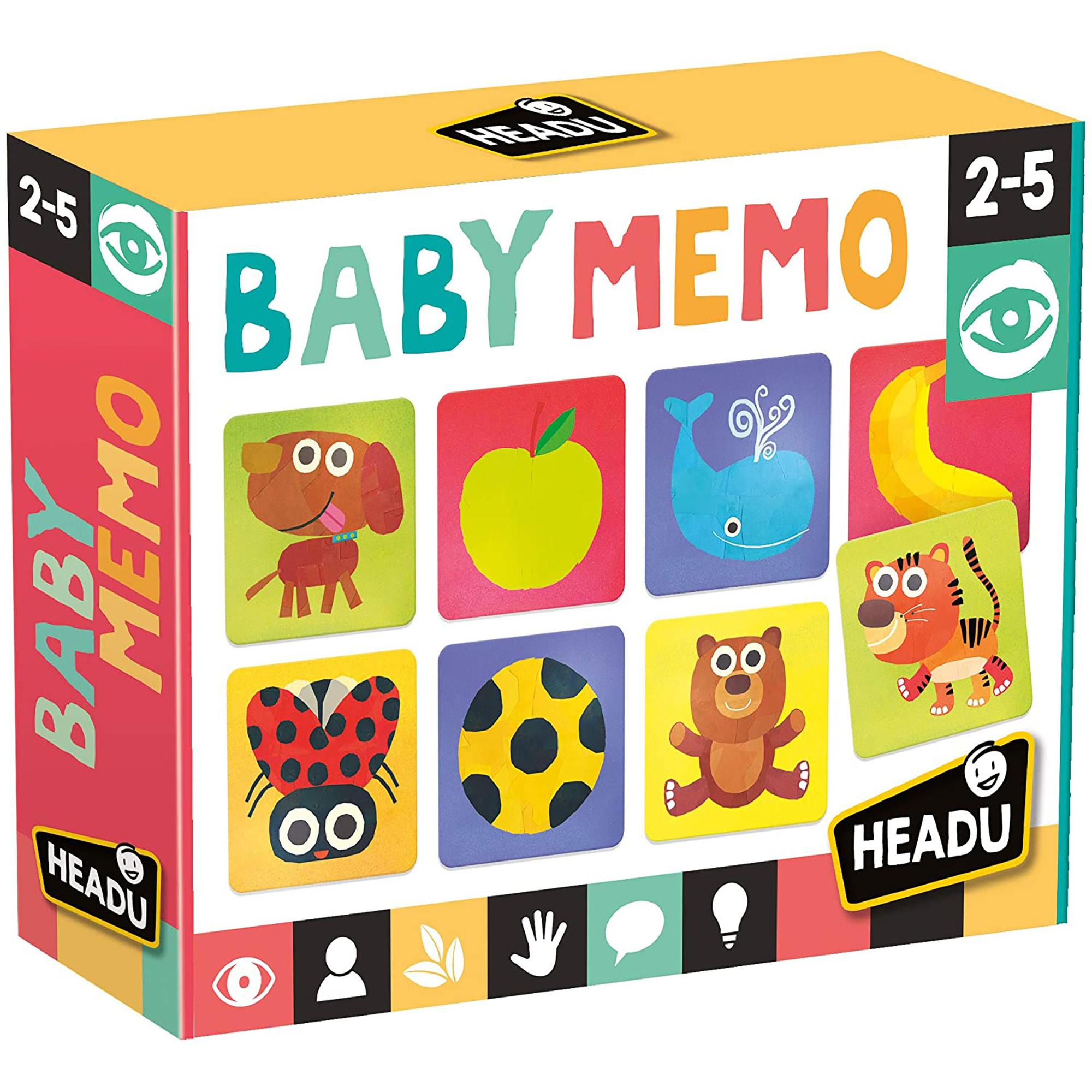 Joc de memorie baby memo headu