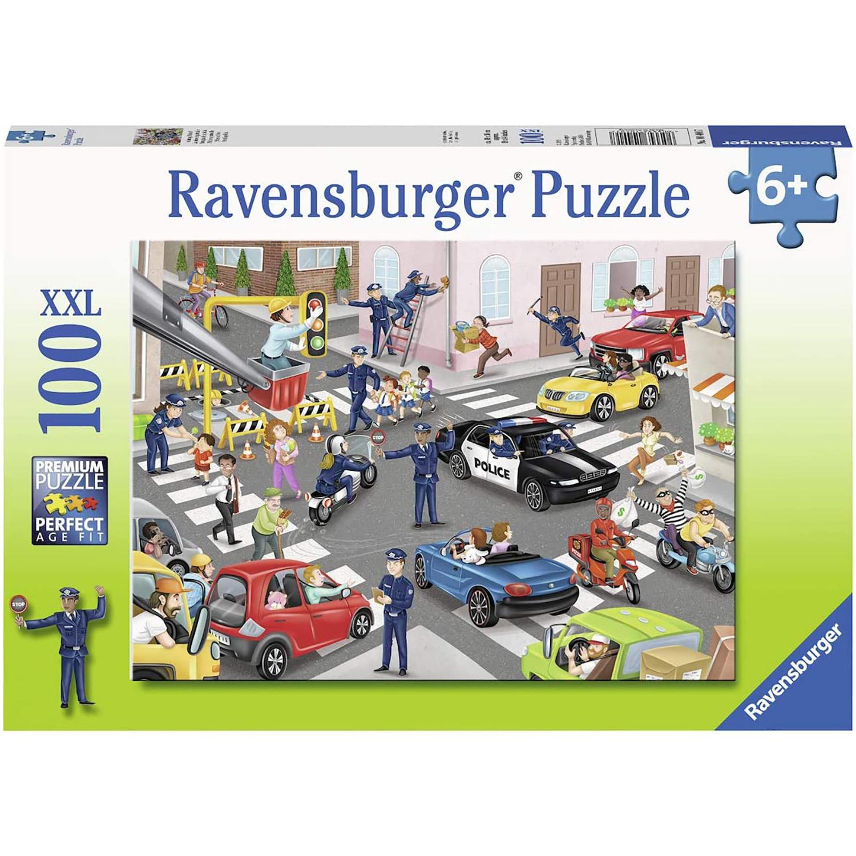 Puzzle patrula de politie 100 piese ravensburger