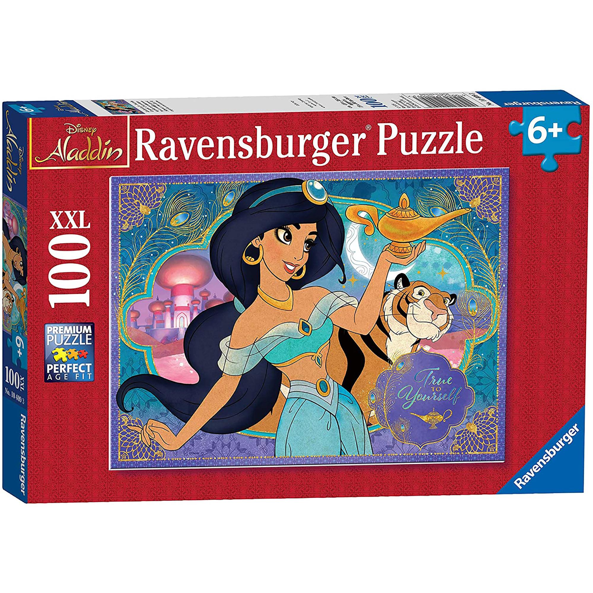 Puzzle printesa jasmine 100 piese ravensburger