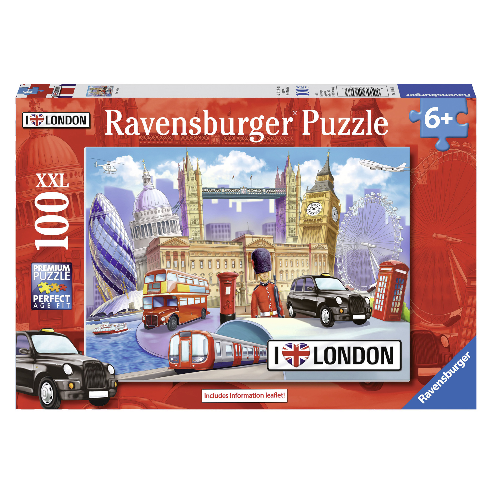 Puzzle londra 100 piese ravensburger