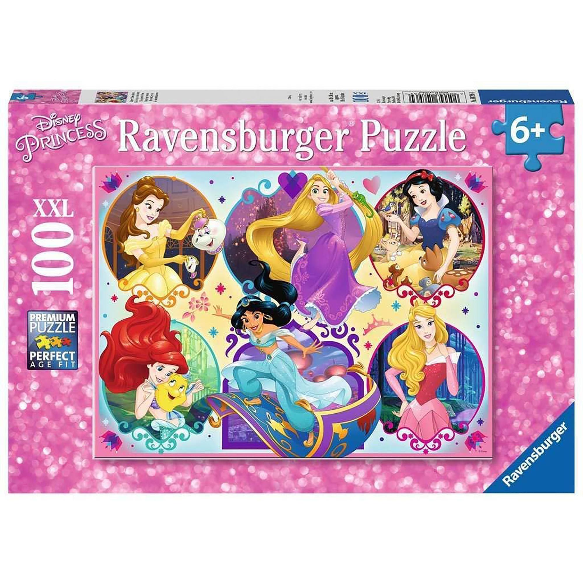 Puzzle printesele disney 100 piese ravensburger
