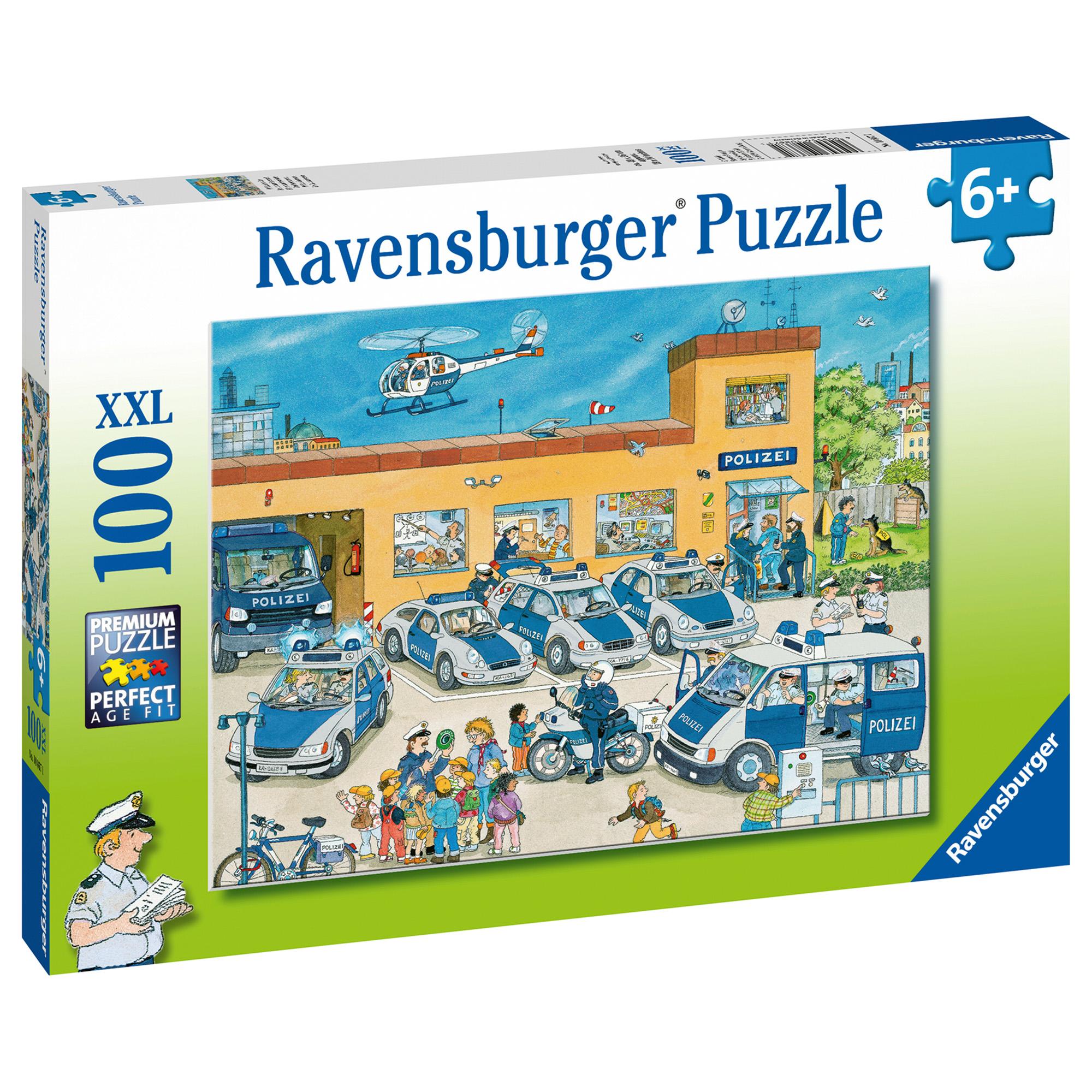 Puzzle politie 100 piese ravensburger - 2