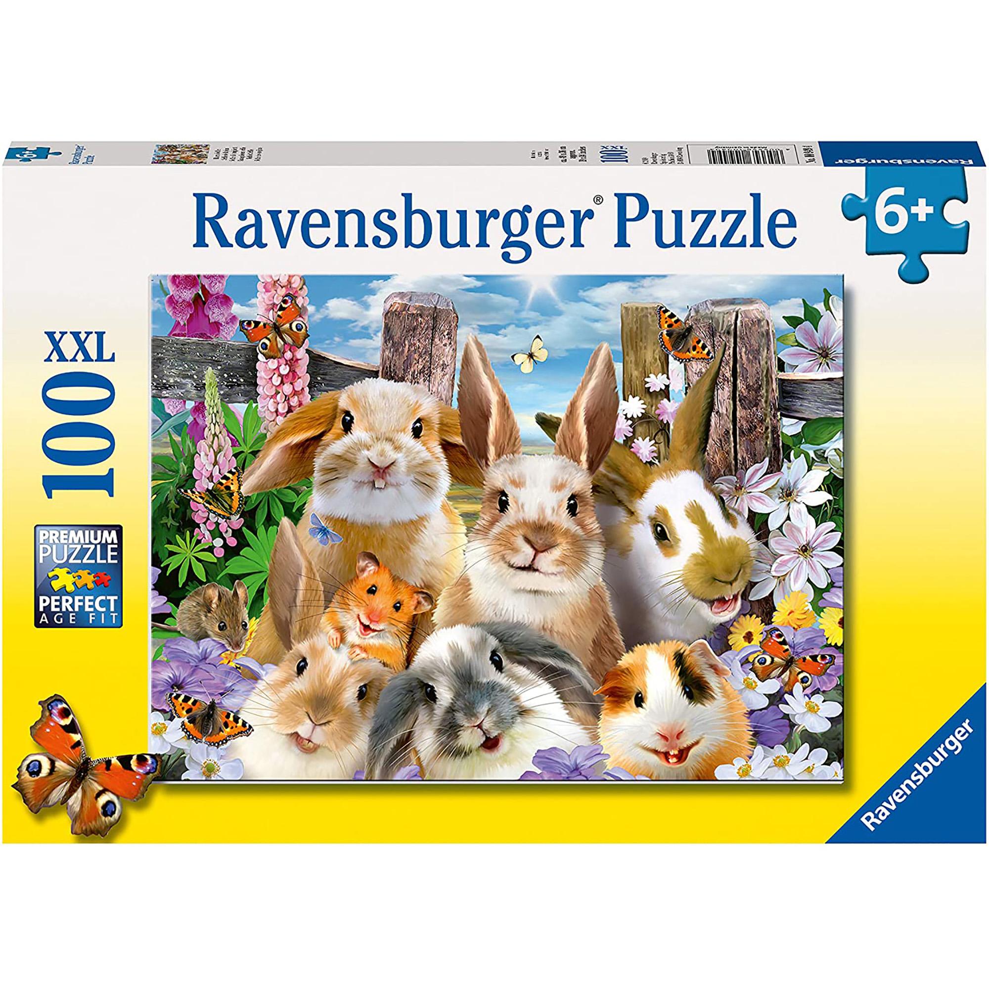 Puzzle iepurasi 100 piese ravensburger