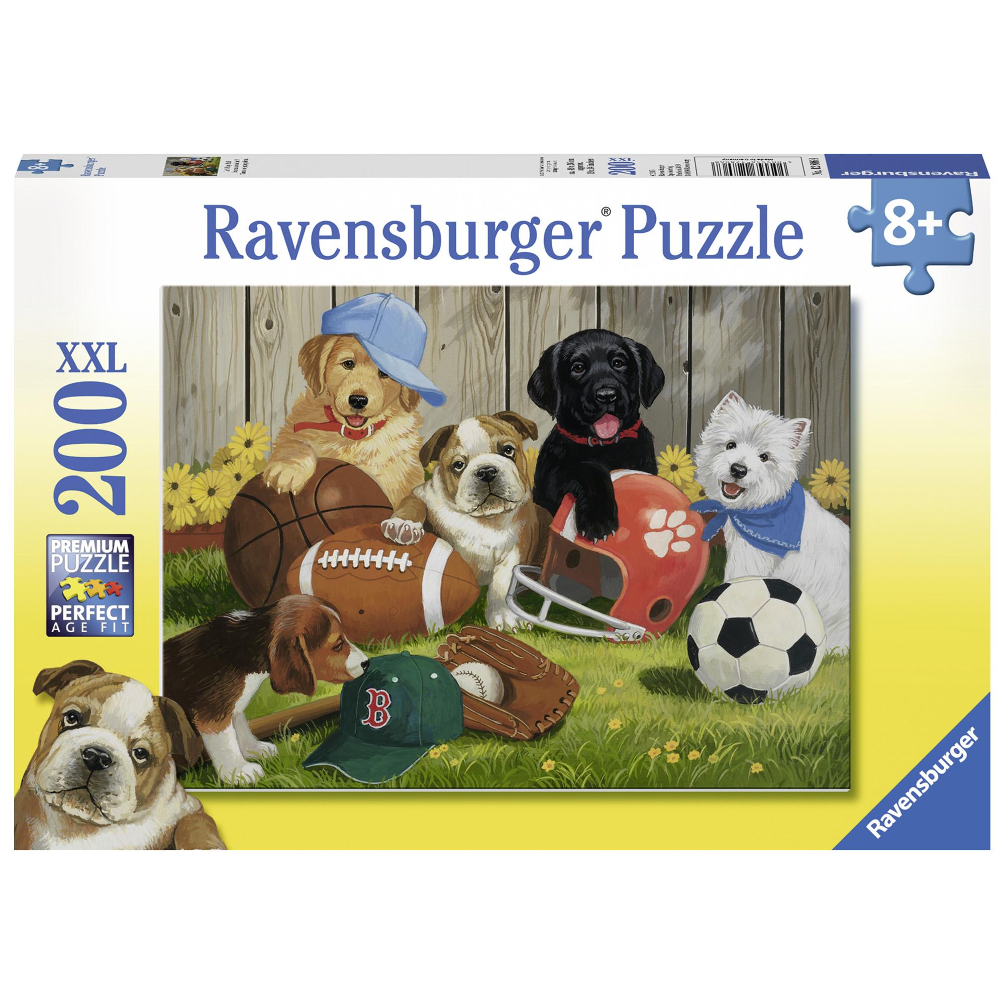Puzzle catelusi sportivi 200 piese ravensburger