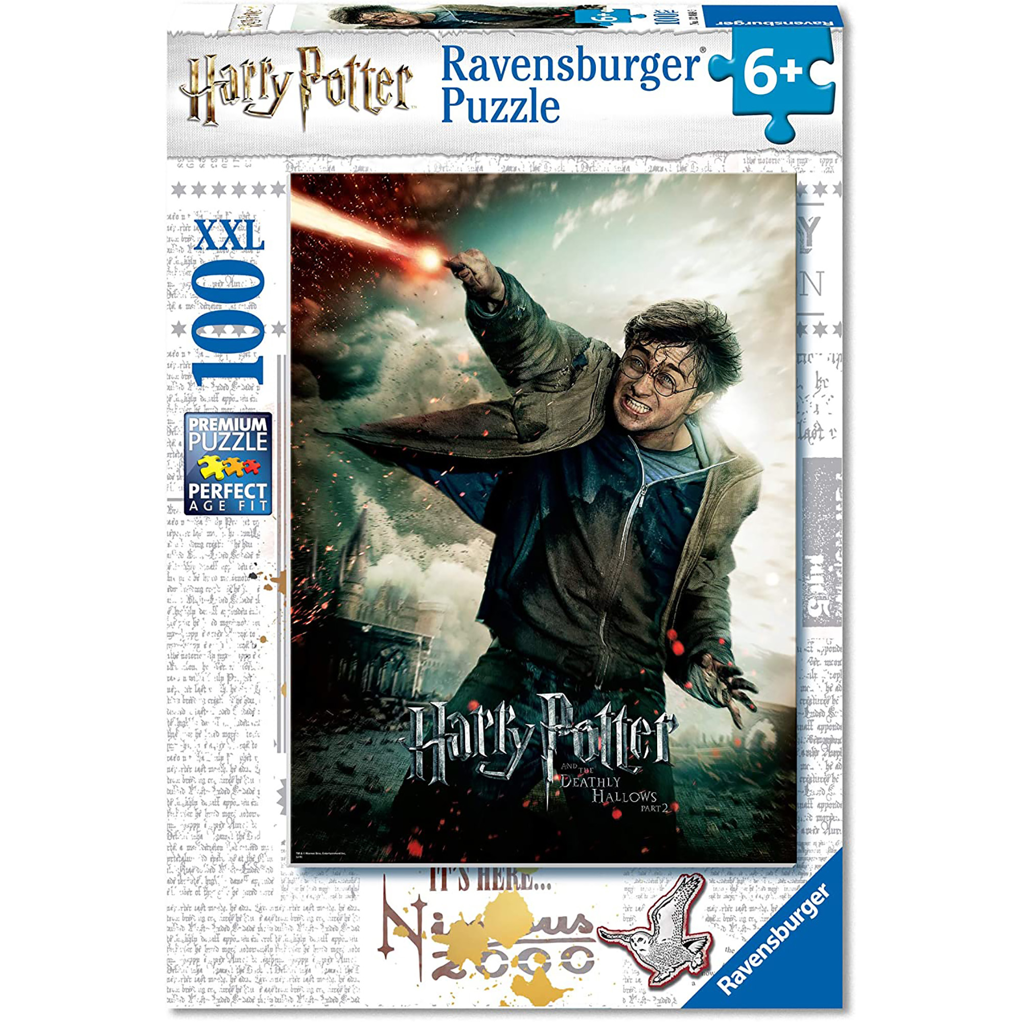 Puzzle harry potter 100 piese ravensburger
