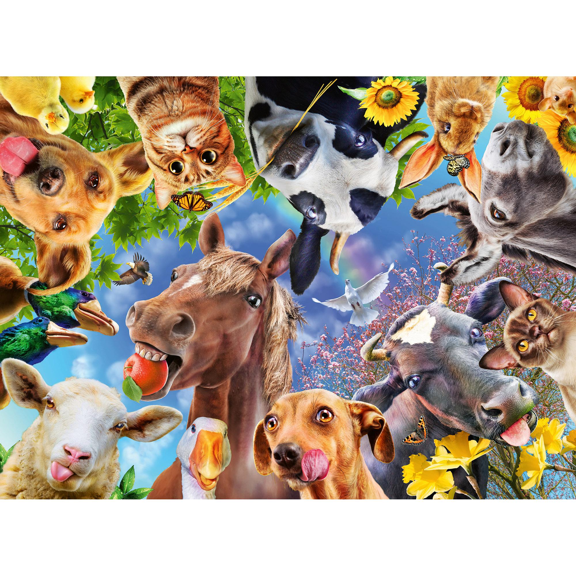 Puzzle portret cu animale 200 piese ravensburger - 1