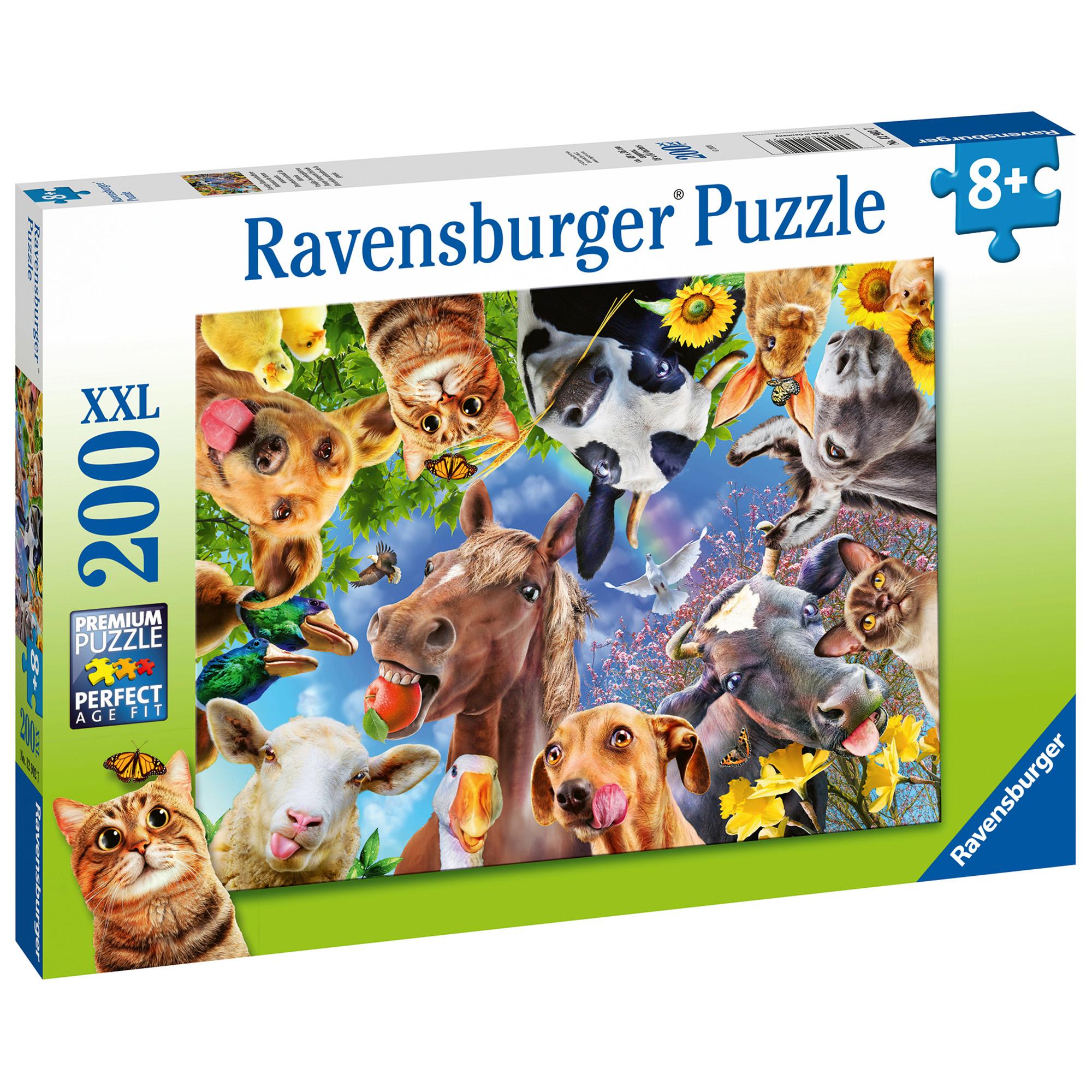 Puzzle portret cu animale 200 piese ravensburger - 2