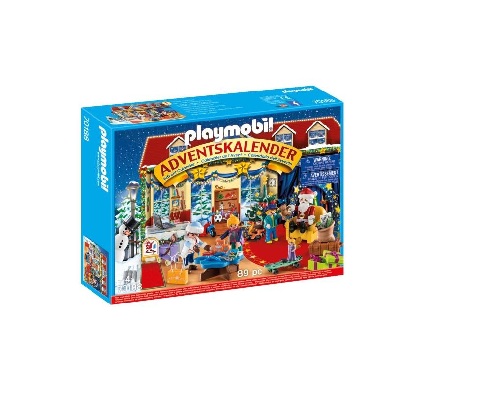 Calendar craciun magazin jucarii playmobil christmas