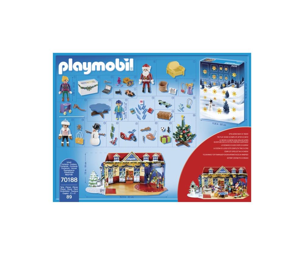 Calendar craciun magazin jucarii playmobil christmas - 2