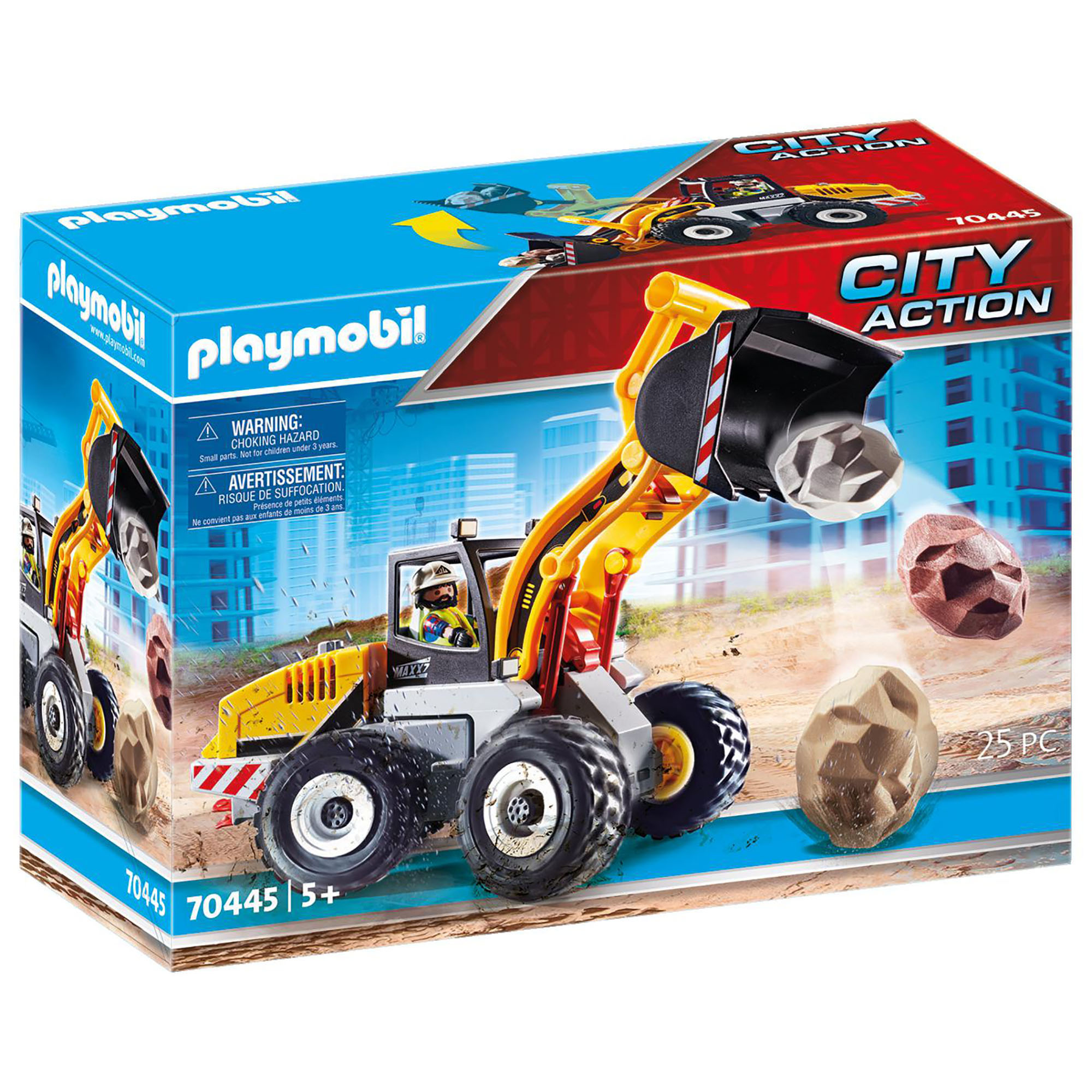 Incarcator frontal playmobil city action