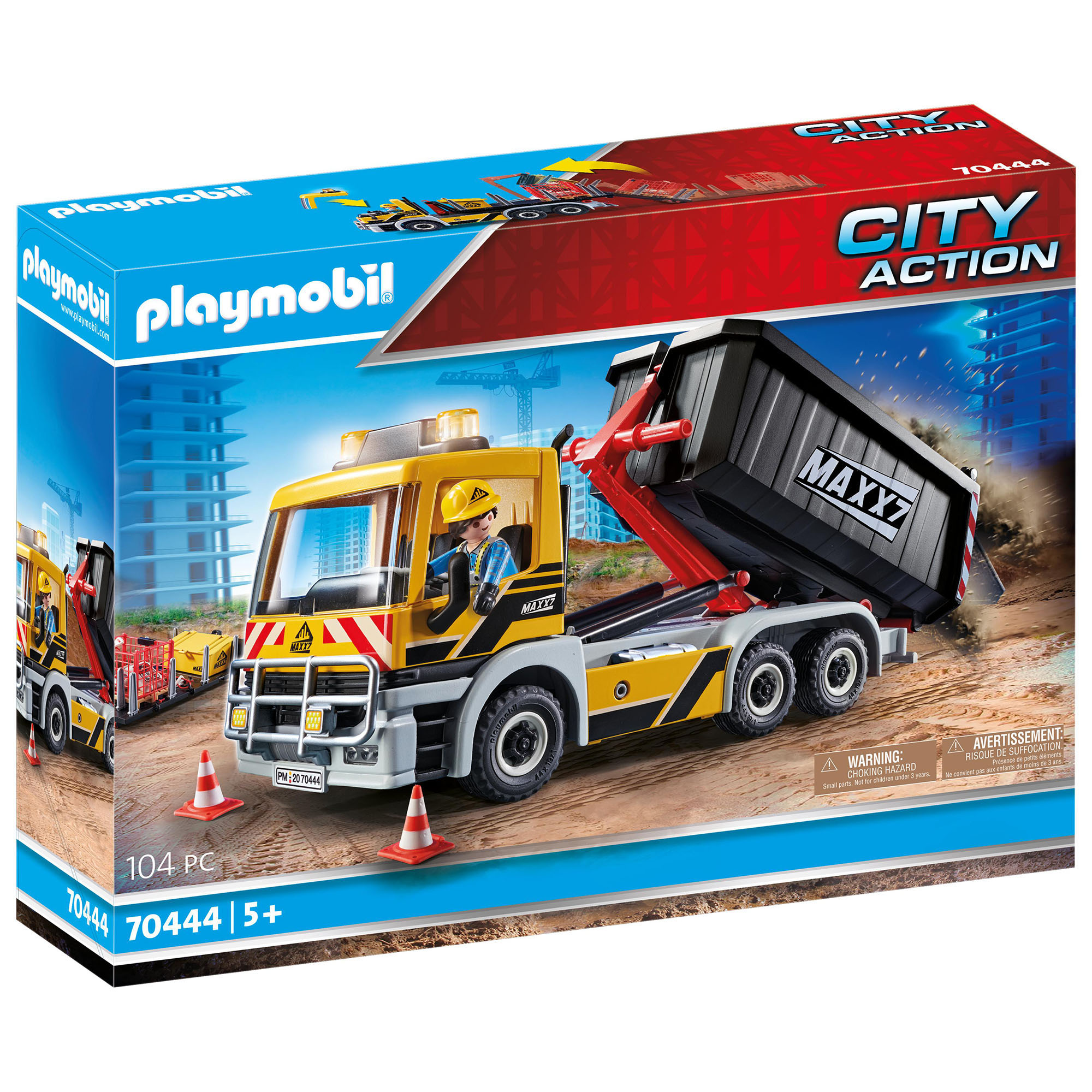 Camion cu remorca detasabila playmobil city action