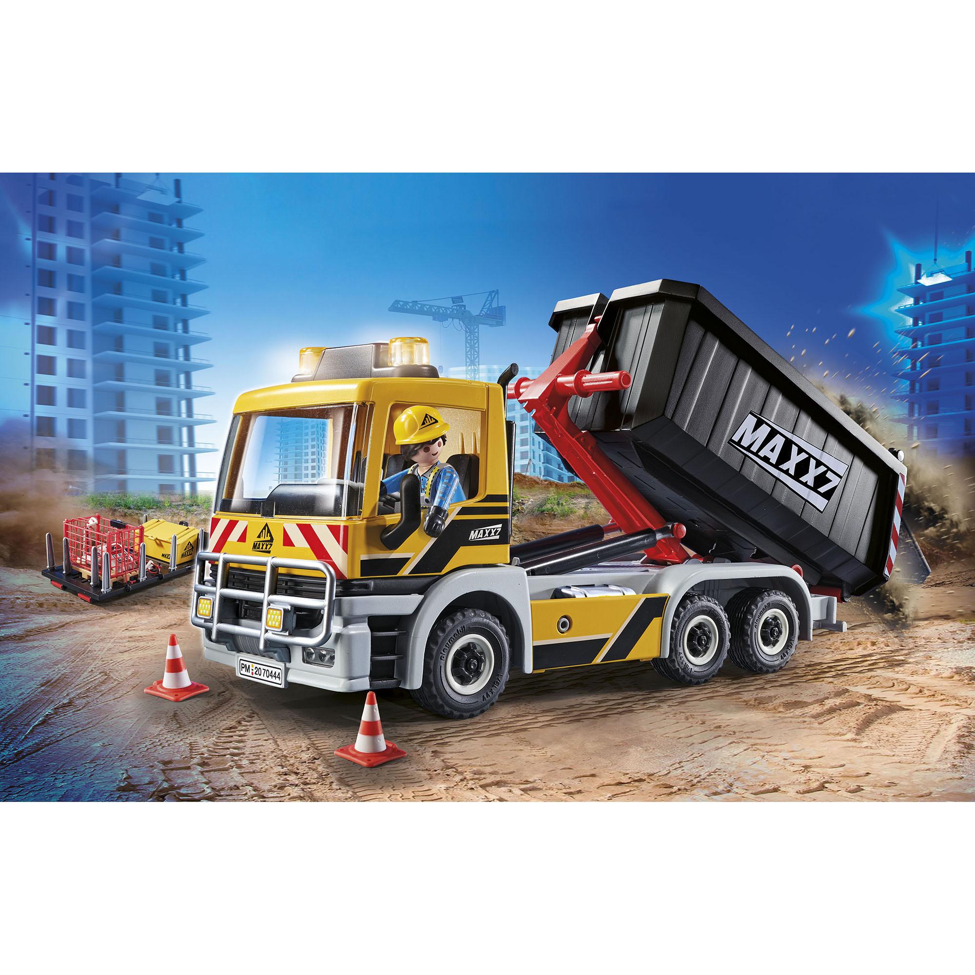 Camion cu remorca detasabila playmobil city action - 2
